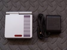 Game Boy Advance GBA SP Classic NES Edition Silver System AGS 001-Plastic Scrn