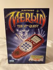 Vintage Parker Brothers Electronic Merlin The 10th Quest 1995 Brand New Rare