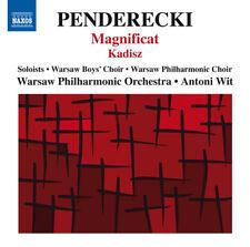 Krzysztof Penderecki : Penderecki: Magnificat/Kadisz CD (2015) ***NEW***