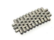 Cartier pulsera-Strang Bracelet acero de recambios 5 erglied link 17 mm