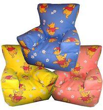 Winnie The Pooh Bear Beanbag Childrens Bean Chairs Kids Character Bean bag Sofas