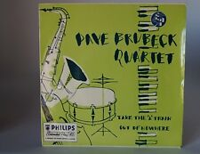 """Dave Brubeck - Take The A Train / Out of Nowhere 7"""" Philips BBE12024 EX 1950s"""