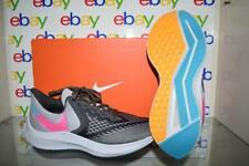 Nike Air Zoom Winflo 6 Women's Running Shoes CU4825 001 Thunder Grey/Pink NIB