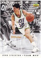 1992-93 UPPER DECK TEAM MVP: JOHN STOCKTON #TM27 UTAH JAZZ 10 TIMES ALL-STAR