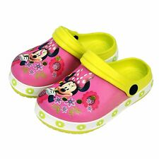 Disney® Minnie Mouse Girls Sandals Clogs Beach Shoes UK Sizes (18mths - 9yrs)