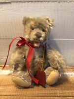 "Vintage 1950's Steiff Zotty Teddy Bear Mohair Open Mouth 7"" FAO Schwarz Tag"