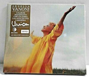 Ornella VANONI  -  Unica    (Deluxe Version) (Cd NOVITA'  / Digipack)