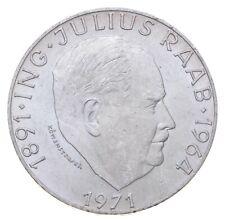 SILVER - WORLD Coin - 1971 Austria 50 Schilling - World Silver Coin *499