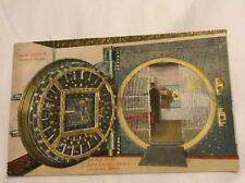 SPOKANE WASHINGTON UNION TRUST SAVINGS BANK 26 TON VAULT DOOR 1913