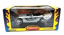 Muscle Car Garage: 2003 Dodge Viper with Flames (Silver) 1/24 Scale