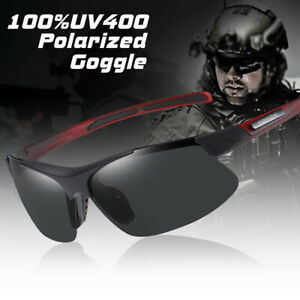 Mens HD Polarized Cycling Glasses Casual Sports Outdoor Sunglasses UV400 Goggles