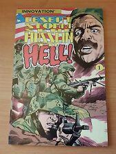 Desert Storm : Send Hussein to Hell! ~ VERY FINE VF ~ 1991 Innovation Comics