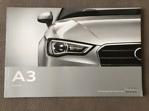 Depliant Brochure Catalogo AUDI A3 Maggio 2012 Stampato in Germania🇧🇪