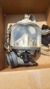 OTS Interspiro AGA Divator full face mask WITH OTS Ear/Mic Assembly
