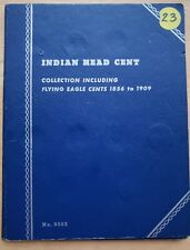 1856 - 1909 Indian Head One Cent Book (25 Coins)