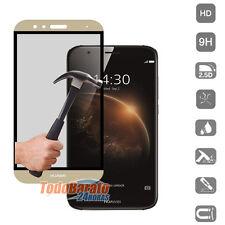 Protector cristal templado completo cubre todo Transparen Samsung Galaxy J5 2017 blanco