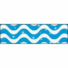 Wavy Blue Bolder Borders® – Sparkle Plus Trend Enterprises Inc. T-85411
