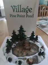 Dept 56 Village Pine Point Pond #52618