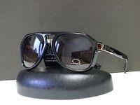 DG Mens Collection Retro 80s Aviator Sunglasses Designer Shades + Soft Bag 23041