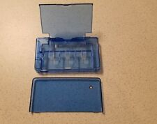 Generic Plastic Protective Case Holds Three Games 3 Blue For DS 2D