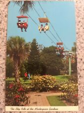 POSTCARD UNUSED FLORIDA, LAKE WALES-SKY RIDE OVER MASTERPIECE GARDENS