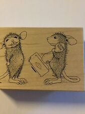 Stamps Rosa House Mouse Designs Stamp A Kiss #002 New Rubber Stamp 1998