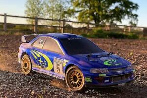 Carisma GT24 Subaru WRC 4WD 1/24 Micro Rally Car RTR