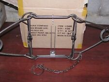 4 Duke 280  Body Grippers Trap  Trapping  Beaver Coyote Bobcat 0480 new sale