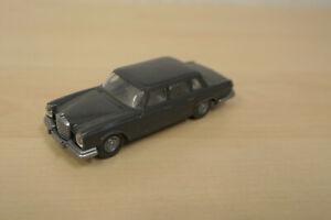 Wiking 1:87 - Mercedes-Benz 600 (W 100) - anthrazit - 156/1