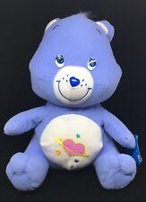"CARE BEAR ""Daydream Bear"" w/ Heart Planet on Belly  Plush Doll & Original Tag"