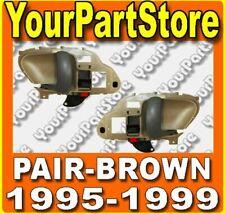 95 96 97 98 CHEVY GMC TRUCK 95-99 Suburban TAHOE INSIDE DOOR HANDLE BROWN Pair