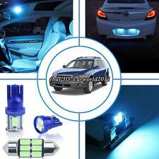 12x Aqua Ice Blue LED Interior Dome Light Package Kit For Subaru Legacy 2000-09