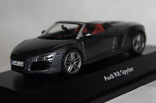 Audi R8 Spyder 2012 daytona grau 1:43 Schuco neu & OVP 7523