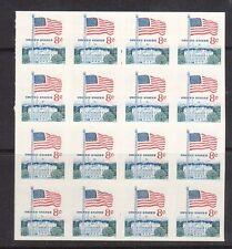 USA #1338fi XF/NH Imperf Block Of 16