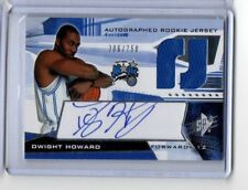 Dwight Howard Hornets 2004-05 SPx Auto & Jersey Rookie Card rC #/750 NM-MT QTY