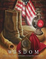 Firefighting Patent Poster Art Print Fireman Antique Helmet Gear  Badge   PAT269