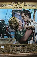 "ELIZABETH TAYLOR ""CLEOPATRA"" ORIGINAL ITALIAN ""PBUSTA"" MOVIE POSTER"