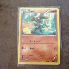 Pokemon RIOLU Card From The POP League Set BW33 Promo