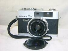 VINTAGE KONICA C35 AUTOMATIC RANGEFINDER CAMERA-KONICA HEXANON 1:2.8 38MM LENS