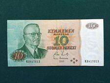 Finland 10 Markkaa, 1980  051805