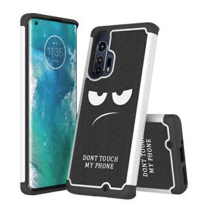 For Motorola Moto Edge+ Plus Case Patterned Hybrid Shockproof Phone Cover