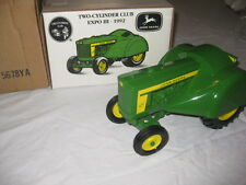 1/16 JOHN DEERE 620 ORCHARD TWO-CYLINDER CLUB EXPO 3 1992 DIE CAST #5678YA