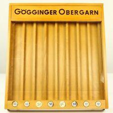 Gögginger Näh Ober Garn Theken Display Wand Vitrine Holz Schrank Vintage 50er