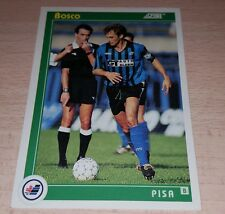 CARD SCORE 1993 PISA PISA BOSCO CALCIO FOOTBALL SOCCER ALBUM
