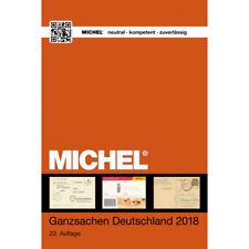 Catalogue Michel Allemagne Entiers postaux 2018.