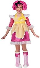 Lalaoopsy Childs Girls Kids Crumbs Sugar Cookie HALLOWEEN Costume Sz Small 4-6