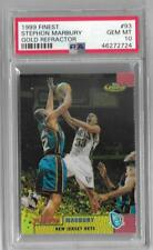 STEPHON MARBURY 1999 TOPPS FINEST GOLD REFRACTOR #40/100 -NETS!!