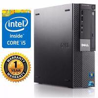 Lot of 2 Dell 990  PC DESKTOP Intel Core I5 2400 3.10GHz 2GB Ram no HDD No Os