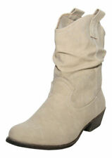 Women's Slim Pull On Boots