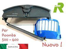 Nuovo Cassetto Aspirazione Sporco Roomba Aerovac Bin Originale Nero 500 600 620
